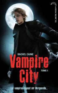 couverture de vampire city tome 1 de rachel caine