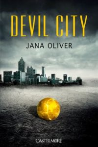 couverture du roman devil city de jana oliver