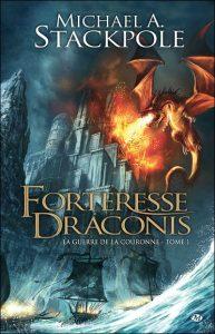 couverture de Forteresse draconis de Michael Stackpole