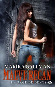 couverture de Rge de dents de Marika Gallman