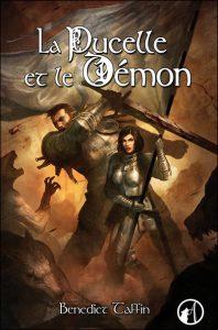 couverture de La pucelle et le démon de Bénédict Taffin