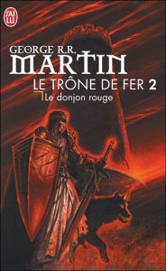 couverture de Le donjon rouge de George RR Martin