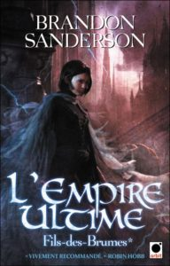 couverture du roman l empire ultime de brandon sanderson
