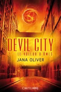 couverture de Le voleur d'âmes de Jana Oliver