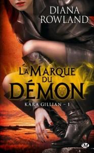 couverture de La marque du démon de Diana Rowland