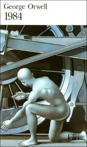 couverture de 1984 de george orwell