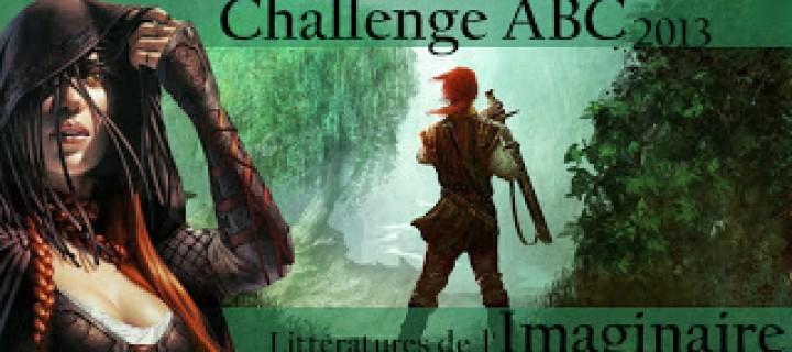 Challenge ABC 2013 – Littératures de l'Imaginaire