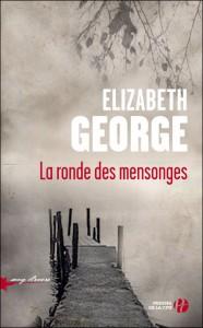 couverture de La ronde des mensonges de Elizabeth George