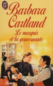 couverture de Le marquis et la gouvernante de Barbara Cartland