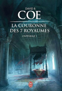 couverture de l'integrale 1 de La couronne des 7 royaumes de David B. Coe