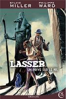 couverture de Lasser un privé sur le nil de miller et Ward aux editions Critic
