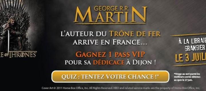 GRR Martin en France !