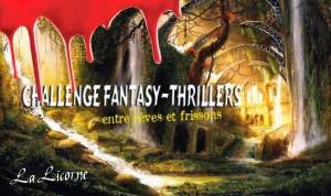 logo challenge fantasy thrillers