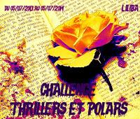 logo challenge thrillers et polars liliba