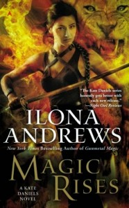 couverture de Magic rises de Ilona Andrews