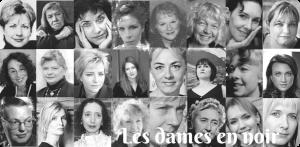 logo du challenge les dames en noir