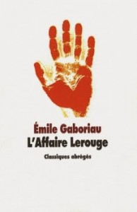 couverture de L'affaire lerouge
