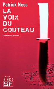 couverture de La voix du couteau de Patrick Ness aux éditions Folio