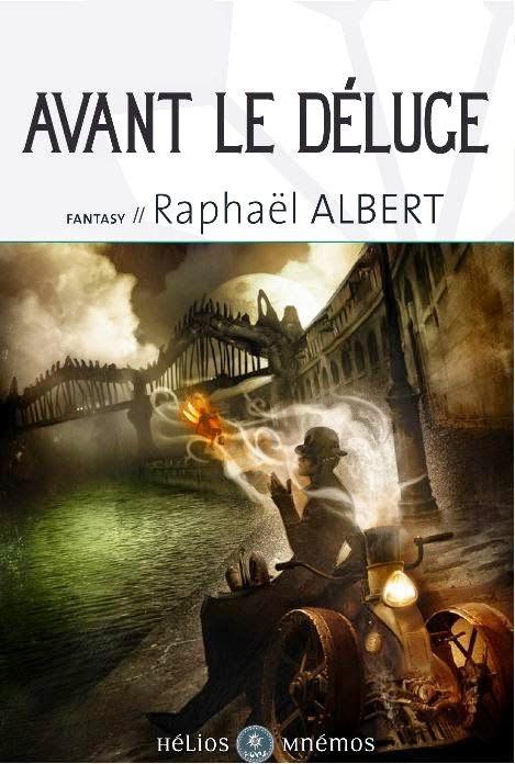 couverture de Avant le deluge 2e tome des aventures de sylvo sylvain de raphael albert