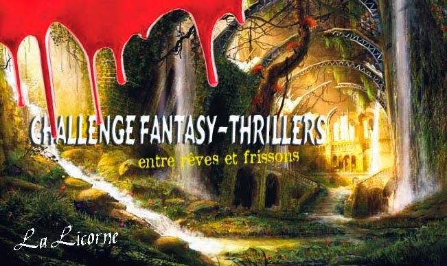 logo du challenge de la licorne fantasy et thrillers