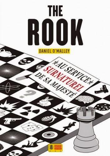 Couverture de The rook de Daniel O'Malley aux éditions Super 8
