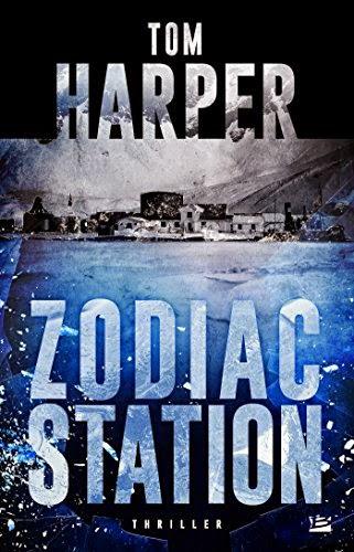 Couverture de Zodiac station de Tom Harper aux Editions Bragelonne