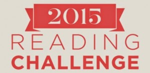 bannière du 2015 reading challenge