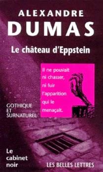 Couverture de Le château d'Eppstein d'Alexandre Dumas aux éditions Les belles lettres