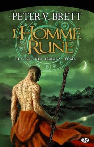 couverture de L'homme rune de Peter V. Brett