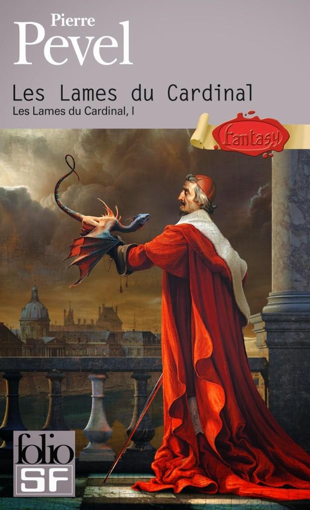 couverture de les lames du cardinal tome 1 de pierre pevel  aux edition folio