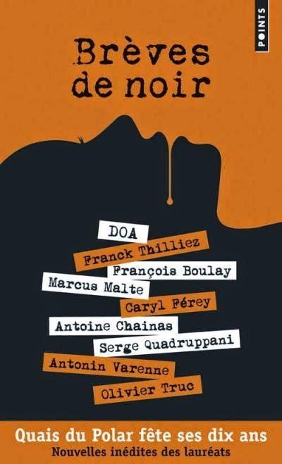 couverture du recueil de nouvelles breves de noir aux editions points