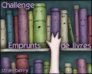 logo challenge emprunts de livre