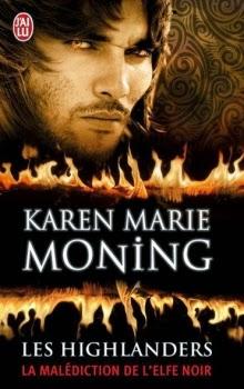 couverture les highlanders tome 1 de karen marie moning aux editions j'ai lu