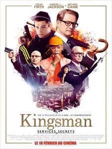 affiche du film kingsman