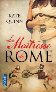 Couverture de La maitresse de Rome de Kate Quinn aux éditions Pocket