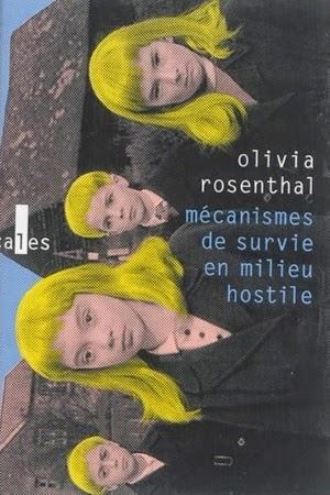 couverture de Mécanismes de survie en milieu hostile de Olivi Rosenthal aux éditions Verticales