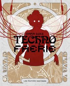 couverture de tehcno faerie de sara doke