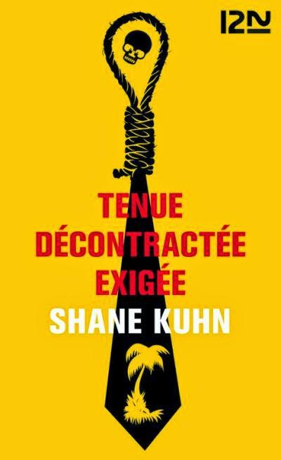 couverture de tenue decontractee exigee de shane kuhn  aux editions 12 21