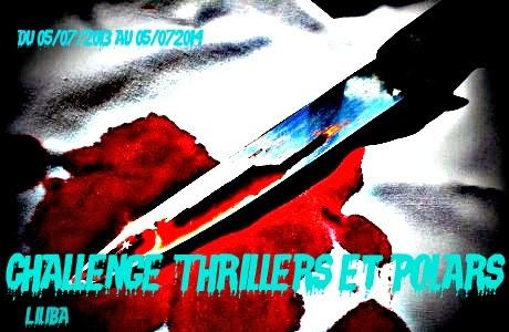 Logo du challenge thrillers et polars