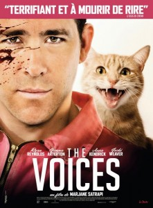 affiche du film The voices