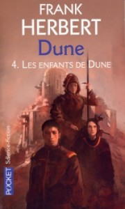 couverture de Les enfants de Dune de Franck Herbert aux editions Pocket