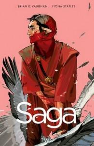 Couverture de Saga tome 2 de Vaughan et Staples