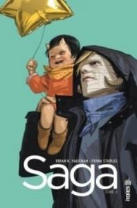 Couverture de Saga tome 4 de Vaughan et Staples
