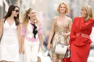 Carrie, Samantha, Miranda et Charlotte dans Sex and the city