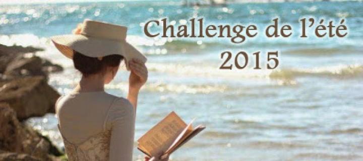 Challenge de l'été 2015