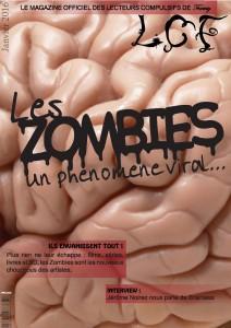 couverture du webzine LCF sur les zombies