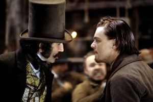 dicaprio et day-lewis dans gangs of new york