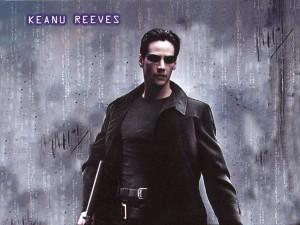 Keanu Reeves est Neo dans Matrix
