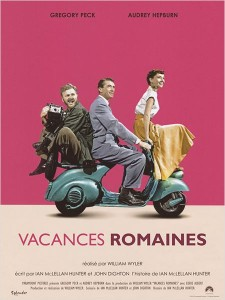 Affiche de Vacances romaines de William Wyler