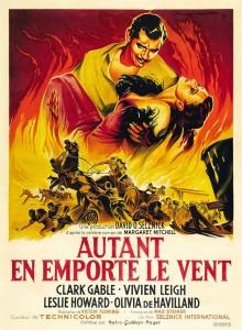 Affiche du film Autant en mporte le vent